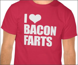 bacon farts shirt